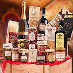 italienischer Präsentkorb Exquisit die besten Delikatessen aus Italien