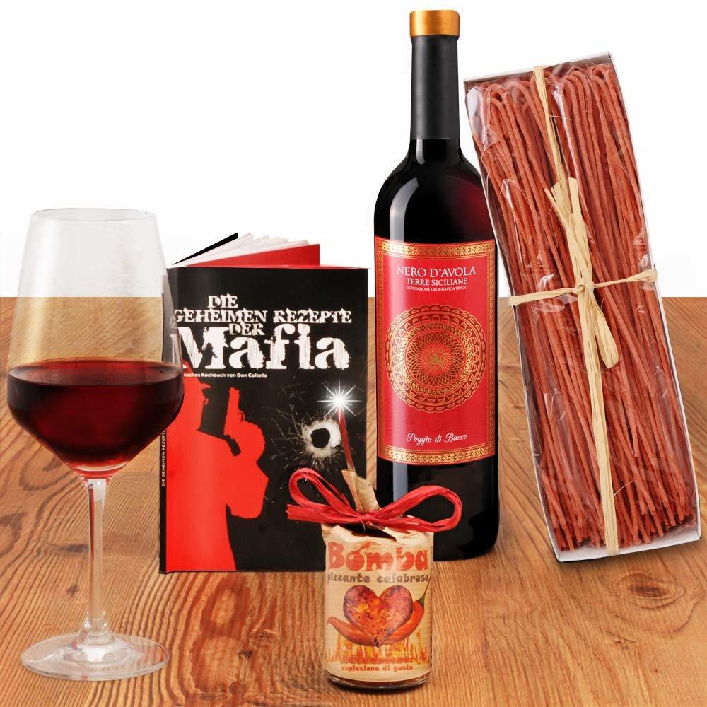 Mafia heißes Geschenkset aus Süditalien