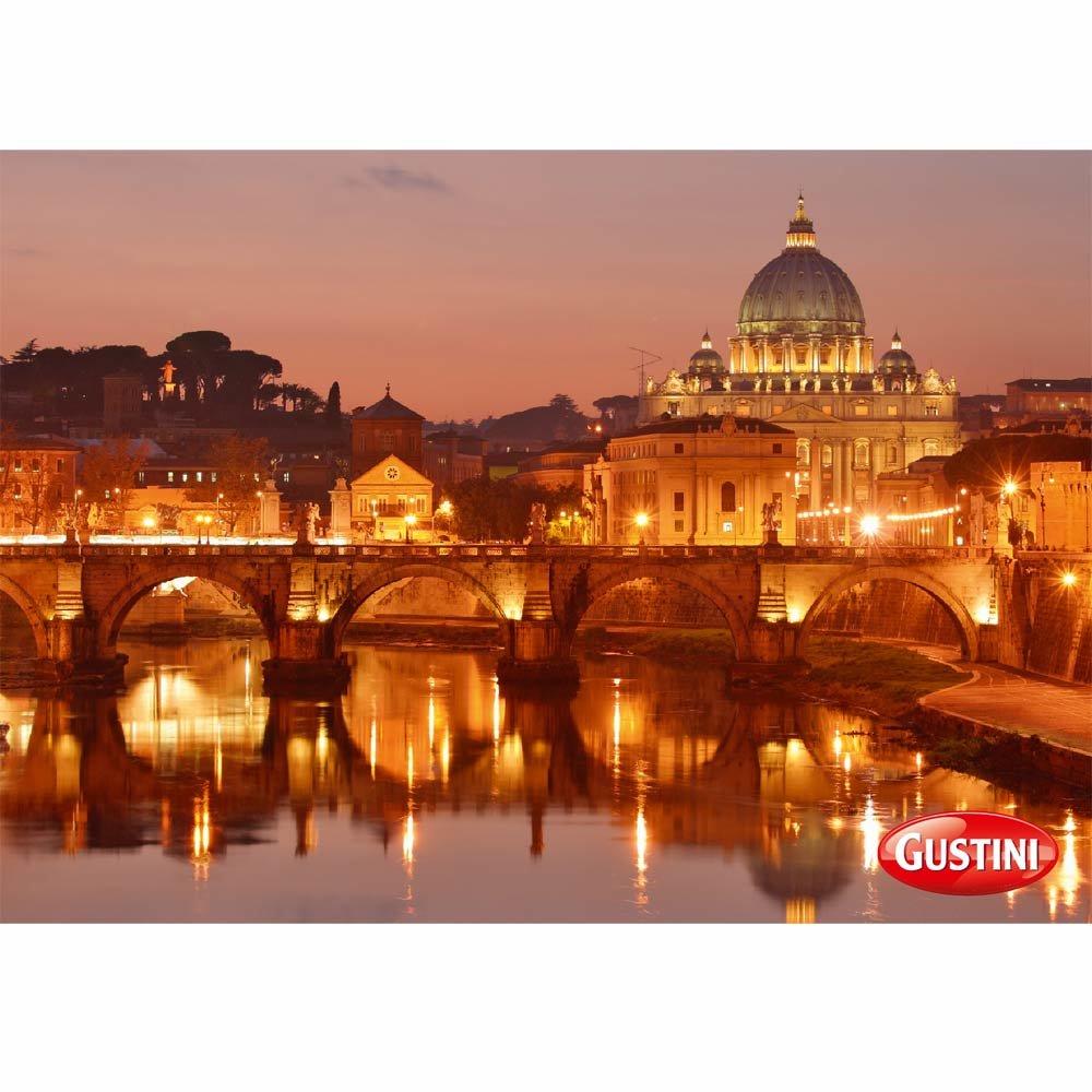 Gru�karte Abendstimmung in Rom