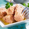 Gelbflossen Thunfischfilet in Olivenöl