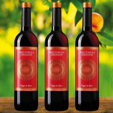 Vorteilspaket 3 Flaschen Nero d'Avola