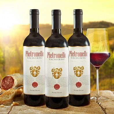 3er Vorteilspaket Pietronello Toscana Rosso IGT