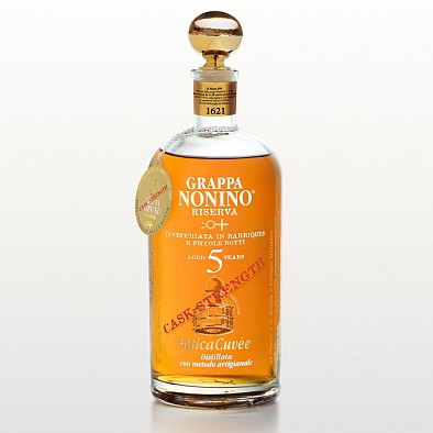 Grappa Nonino Antica Cuvee Cask Strength