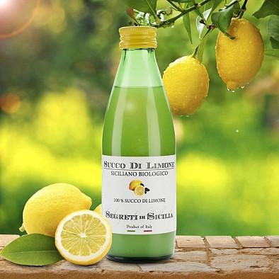 Succo di limone Siciliano Bio