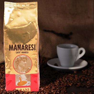 Manaresi Espresso Rosso in grani