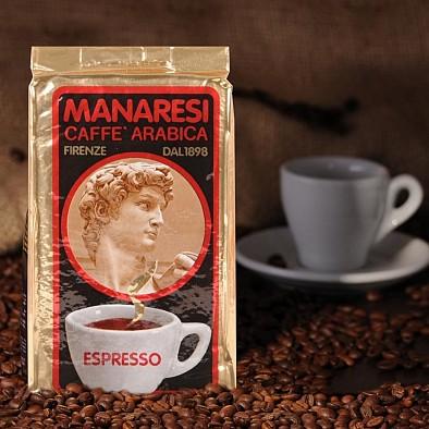 Manaresi Espresso Miscela Oro macinato