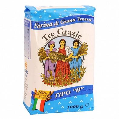 Farina tipo 0 per Pane Tre Grazie 1kg Weizenmehl
