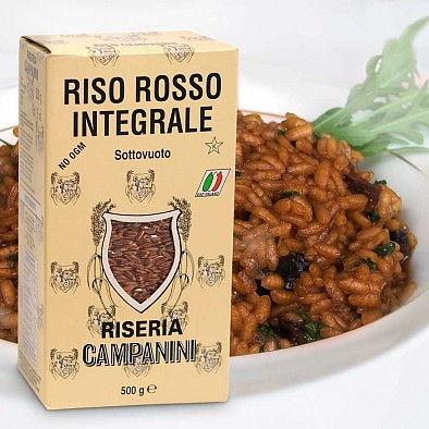 Roter Reis aus Italien, Vollkorn