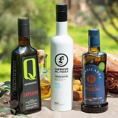 Testsieger Olivenöl Trio - Gewinner Gold