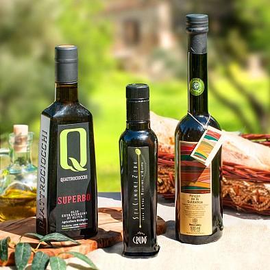 Testsieger Olivenöl Trio - intensiv fruchtig