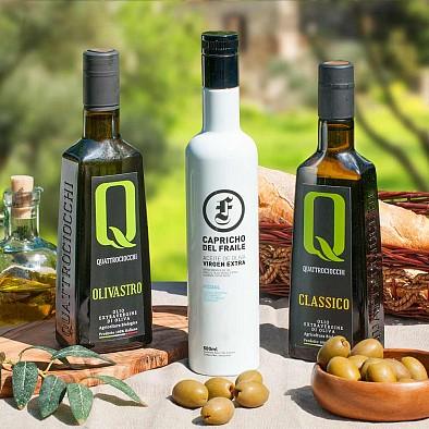 Testsieger Olivenöl Trio - mittelfruchtig