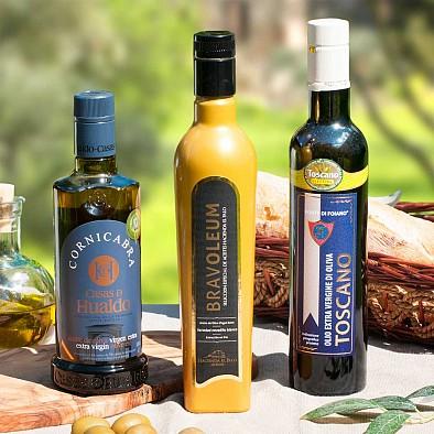 Testsieger Olivenöl Trio - leicht fruchtig