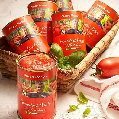 Pelati - geschälte Tomaten 6er-Set