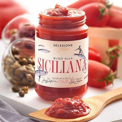 Tomatensoße mit Sardellen