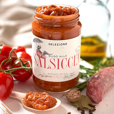 Tomatensoße mit Salsiccia