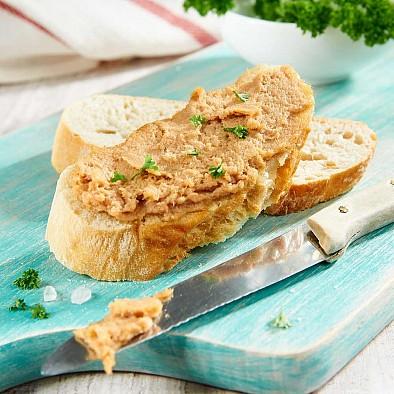 Paté di tonno e salmone