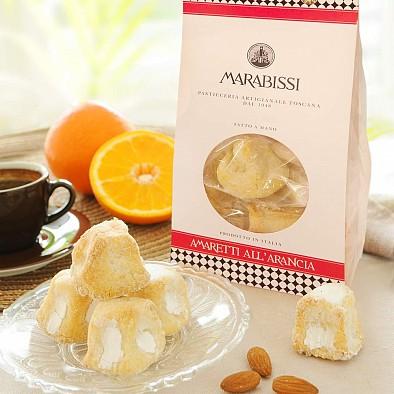 Amaretti morbidi all'arancio