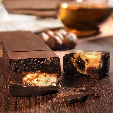 Torrone al Rum e Cioccolato