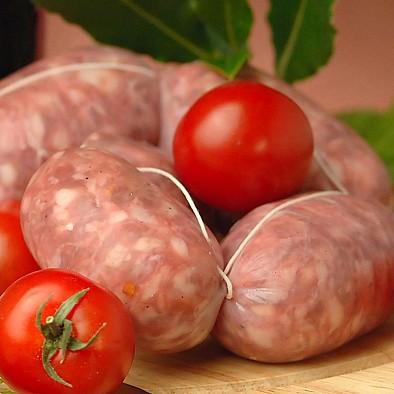 Salsiccia fresca al finocchio