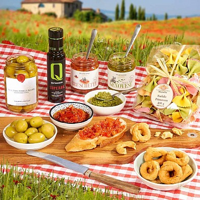 Geschenkset Bella Italia