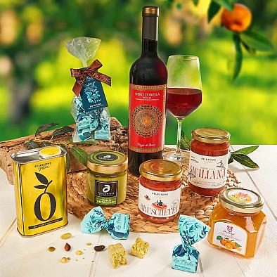 Geschenkkorb Bella Sicilia