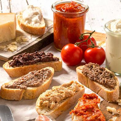 Italienischer Brotaufstrich - Probierset