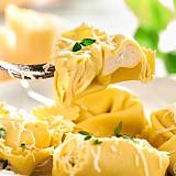 Tortelli mit original Gardasee-Käse