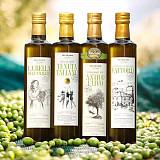 QUARTETTO OLEUM, Premium Olivenöl 4x