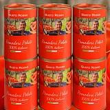 6 Dosen geschälte Tomaten Pomodori Pelati Italiani Top-Qualität