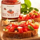 Bruschetta aus frischen Tomaten