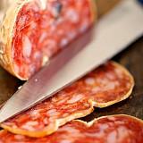 Pikante italienische BIO Salami