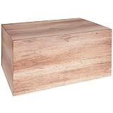 6er Geschenkkarton in Holzoptik