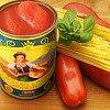 Handgeerntete geschälte San Marzano Tomaten DOP, Top-Qualität