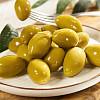 Riesen-Oliven - grün, mit Stein